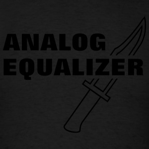 Analog Equalizer Hoodies - Men's T-Shirt