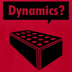 Dynamics? Hoodies - Men's T-Shirt by American Apparel