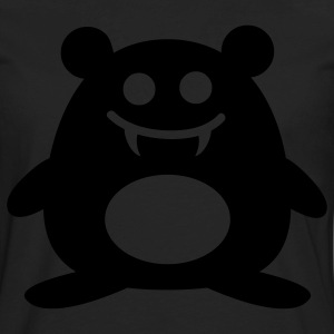 Happy Vampire Hamster - Glow in the Dark - Men's Premium Long Sleeve T-Shirt