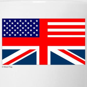 White uk usa Women's T-shirts - Coffee/Tea Mug