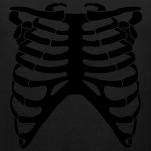 Rib Cage - Hooded Sweatshirt! - Men's Premium Tank
