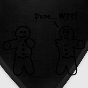 Red Gingerbread Cannibalism Men - Bandana