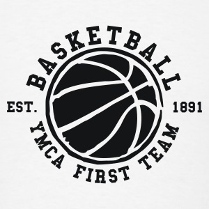 YMCA First Team - Basketball - Men's T-Shirt