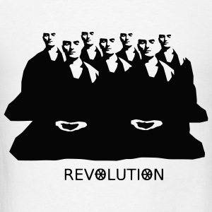 Burma Zen Buddhist Revolution - Men's T-Shirt