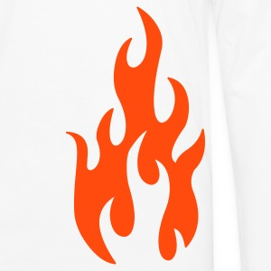 flames 1 - Men's Premium Long Sleeve T-Shirt