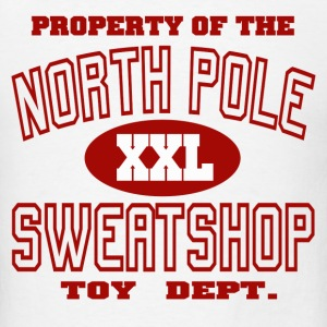 North Pole Sweatshop - Men's T-Shirt