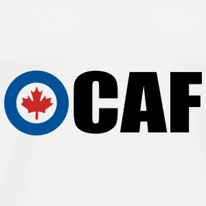 White Canadian Air Force Accessories - Men's Premium T-Shirt