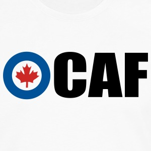 White Canadian Air Force Women - Men's Premium Long Sleeve T-Shirt