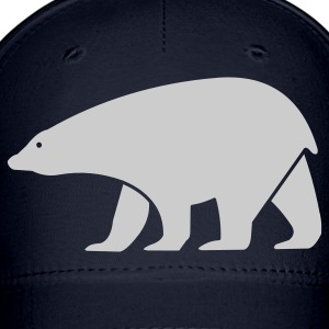 Navy polar bear Women - Baseball Cap