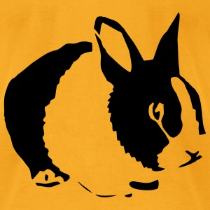 Bunny - Men's T-Shirt by American Apparel