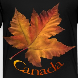 Canada Souvenir Kid's T-shirt Maple Leaf Canada Kids Shirts - Toddler Premium T-Shirt