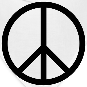 PEACE T-Shirts - Bandana