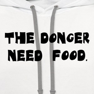 The Donger Light - Contrast Hoodie