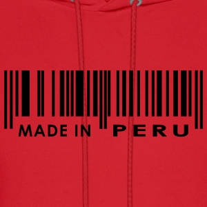 Red Made in Peru Women - Men's Hoodie