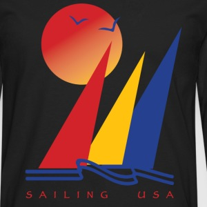 Sailing USA - Men's Premium Long Sleeve T-Shirt