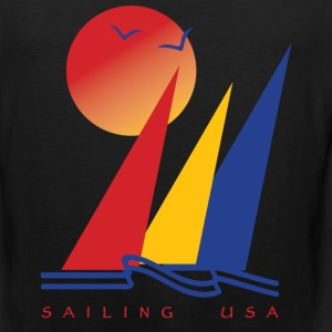 Sailing USA - Men's Premium Tank