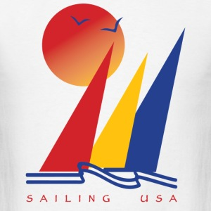 Sailing USA - Men's T-Shirt