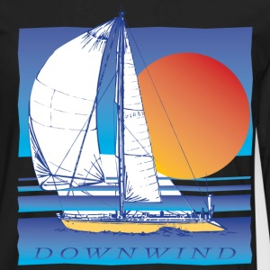 Sailing Downwind - Men's Premium Long Sleeve T-Shirt