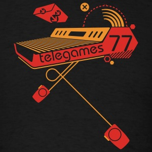 Black Telegames77 Sweatshirt - Men's T-Shirt