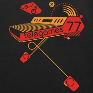 Black Telegames77 Sweatshirt - Eco-Friendly Cotton Tote