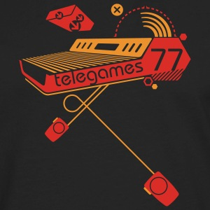 Black Telegames77 Sweatshirt - Men's Premium Long Sleeve T-Shirt