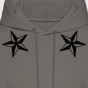 Khaki dual_nautical_stars Men - Men's Hoodie
