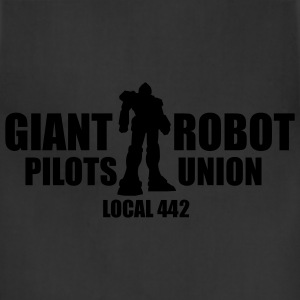 Black Giant Robot Pilot's Union Women - Adjustable Apron