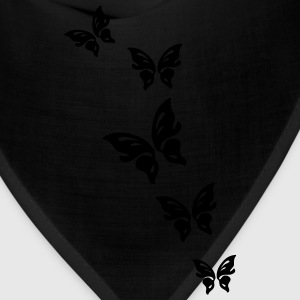 Black butterfly Women - Bandana