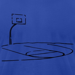 Basketball - Men's T-Shirt by American Apparel