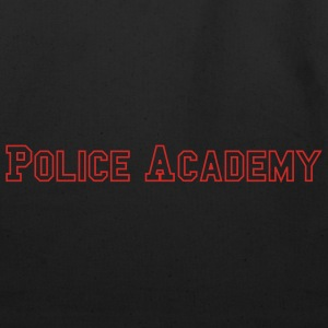 Black Police Academy Men - Eco-Friendly Cotton Tote