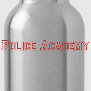 Black Police Academy Men - Water Bottle