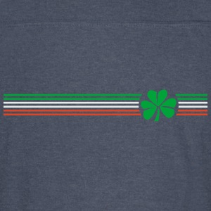 Irish Shamrock Flag - Vintage Sport T-Shirt
