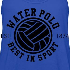 Water Polo - Best in Sports - Since 1874 - Women's Flowy Tank Top by Bella
