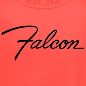 Brown Ford Falcon script emblem - AUTONAUT.com T-Shirts - Women's Flowy Tank Top by Bella
