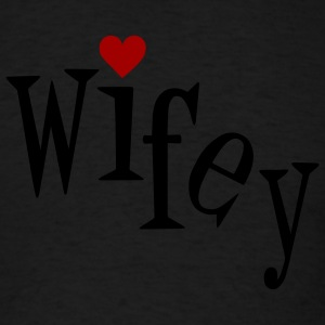 Chocolate Wifey Women - Men's T-Shirt
