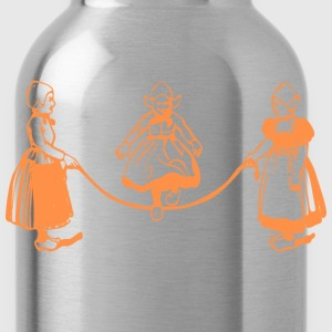 Navy Dutch scene Women - Water Bottle