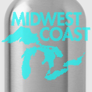 Midwest Coast - Blue - Water Bottle