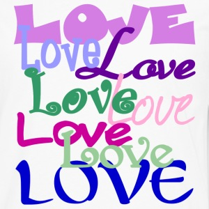 Love, Love, Love - Men's Premium Long Sleeve T-Shirt