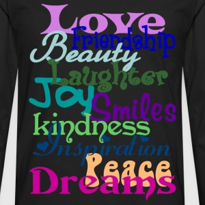 Wonderful Words - Men's Premium Long Sleeve T-Shirt