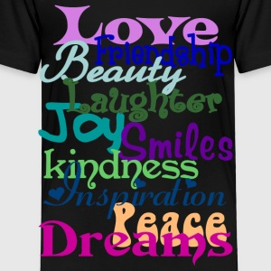 Wonderful Words - Toddler Premium T-Shirt