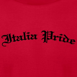 Red Italia Pride Gothic Kids & Baby - Men's T-Shirt by American Apparel
