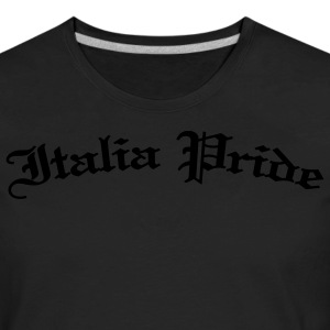 Women's Italia Pride, Gothic Black - Men's Premium Long Sleeve T-Shirt