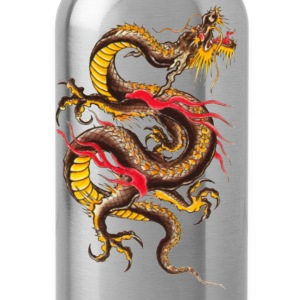 Black dragon Women - Water Bottle
