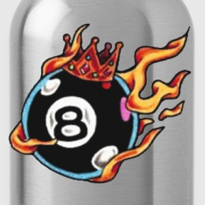 Black behind the 8 ball Men - Water Bottle