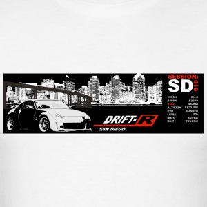 White Drift-R SD bumper Men - Men's T-Shirt