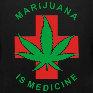 marijuana is medicine - Men's Premium Tank