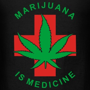 Marijuana Is Medicine - Men's T-Shirt