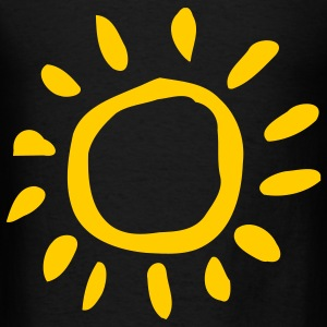 Black Sun - Sunny - Summer - Beach - Holiday Accessories - Men's T-Shirt
