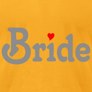 Creme Bride (wedding, bride to be, honeymoon) Accessories - Men's T-Shirt by American Apparel