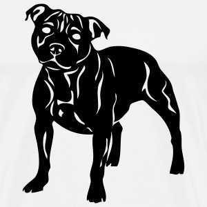 White staffbulliesweet Women - Men's Premium T-Shirt